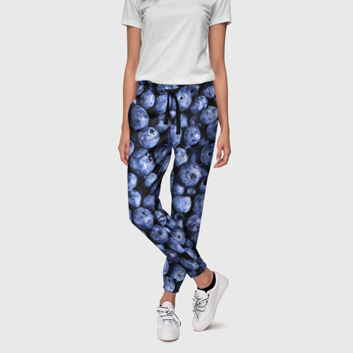 Женские брюки 3D Черника