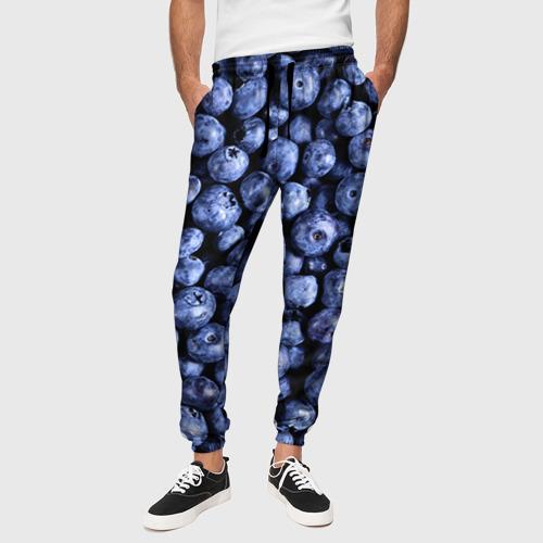 Мужские брюки 3D Черника