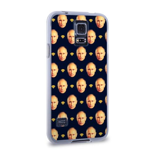 Чехол для Samsung Galaxy S5 силиконовый  Фото 02, Путин