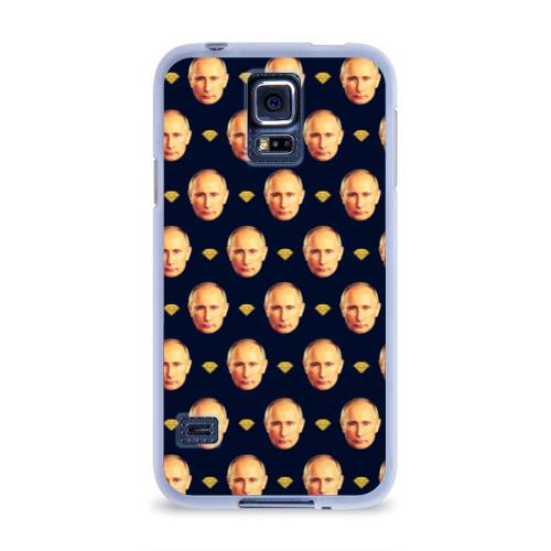 Чехол для Samsung Galaxy S5 силиконовый  Фото 01, Путин