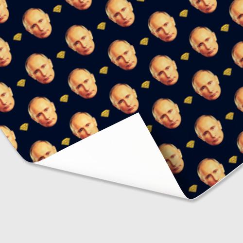 Бумага для упаковки 3D  Фото 03, Путин