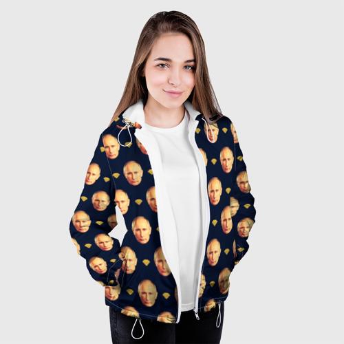 Женская куртка 3D Путин Фото 01