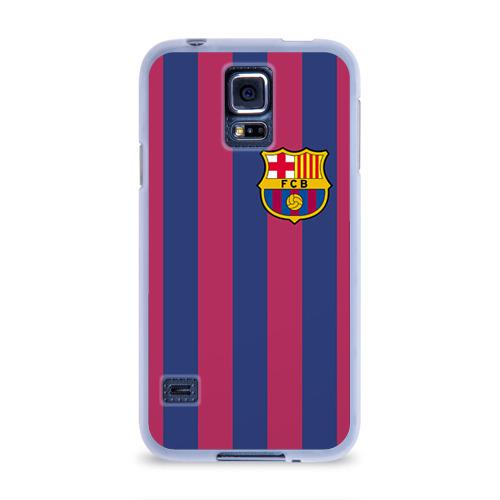 Чехол для Samsung Galaxy S5 силиконовый  Фото 01, Messi