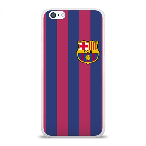 Чехол для Apple iPhone 6Plus/6SPlus силиконовый глянцевый Messi Фото 01