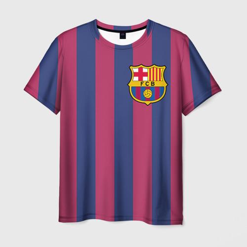 Мужская футболка 3D Messi Фото 01