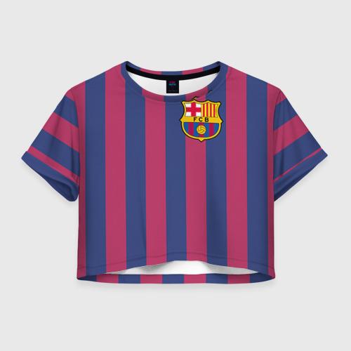 Женская футболка Cropp-top Messi