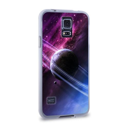 Чехол для Samsung Galaxy S5 силиконовый  Фото 02, Космос