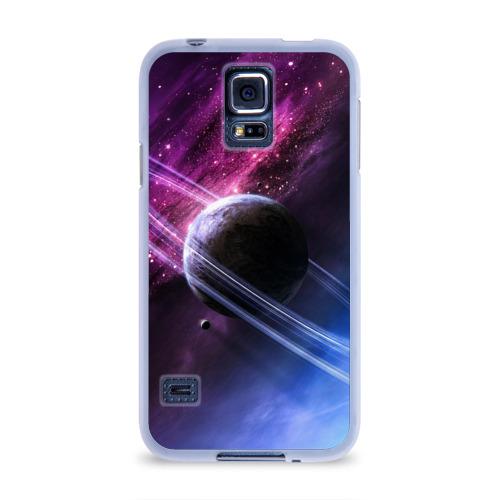 Чехол для Samsung Galaxy S5 силиконовый  Фото 01, Космос