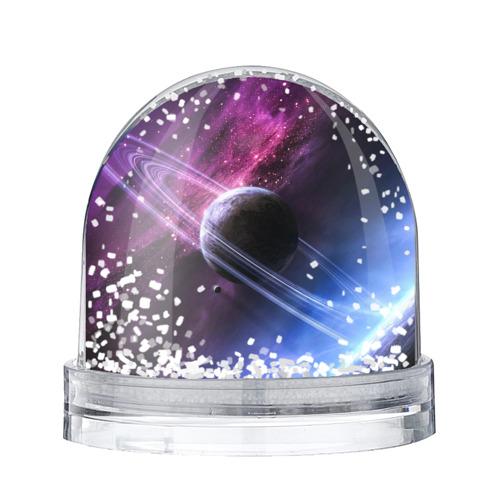 Водяной шар со снегом Космос