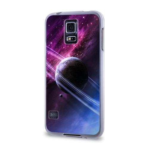 Чехол для Samsung Galaxy S5 силиконовый  Фото 03, Космос