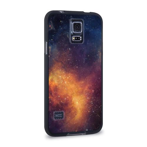 Чехол для Samsung Galaxy S5 силиконовый Космос Фото 01