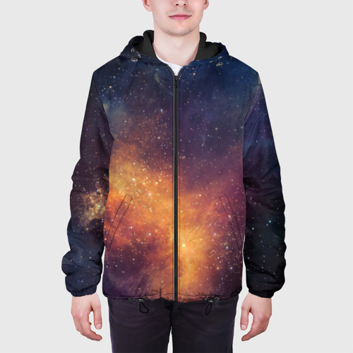 Мужская куртка 3D Космос Фото 01