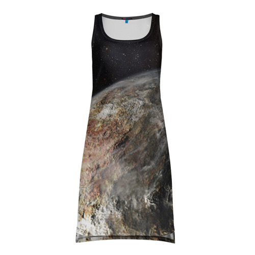 Платье-майка 3D Плутон