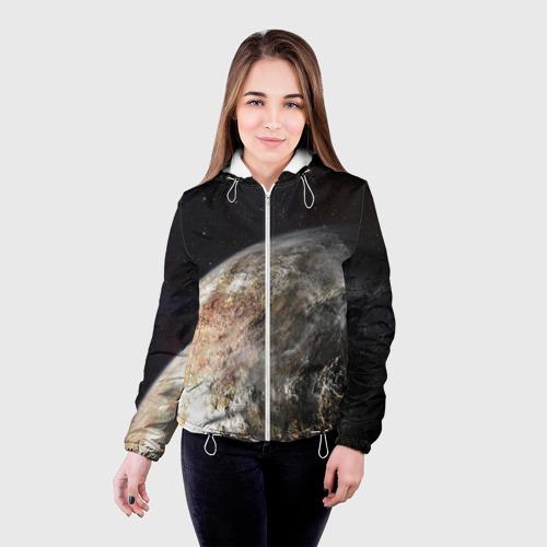 Женская куртка 3D  Фото 03, Плутон