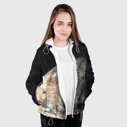 Женская куртка 3D  Фото 04, Плутон