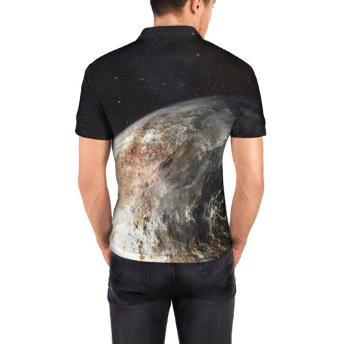 Мужская рубашка поло 3D  Фото 04, Плутон