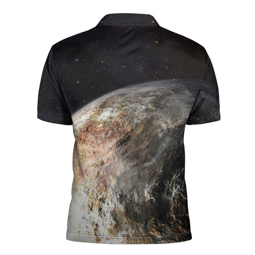 Мужская рубашка поло 3D  Фото 02, Плутон