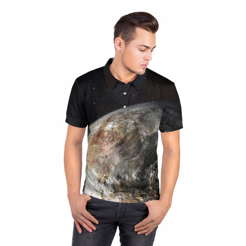 Мужская рубашка поло 3D  Фото 05, Плутон