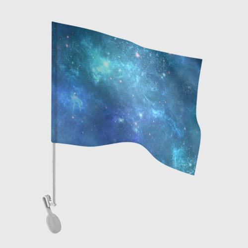 Флаг для автомобиля Космос