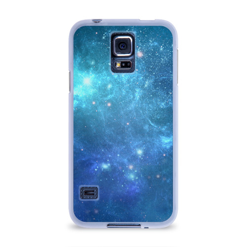 Чехол для Samsung Galaxy S5 силиконовый Космос