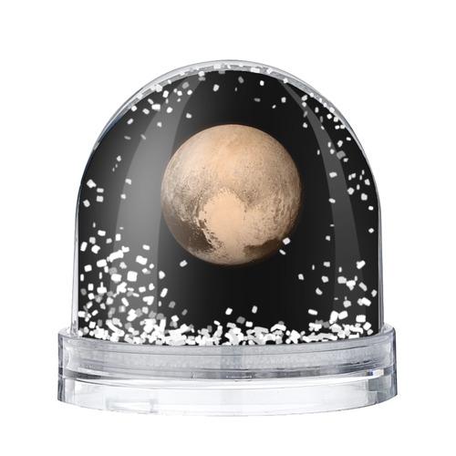 Водяной шар со снегом Плутон