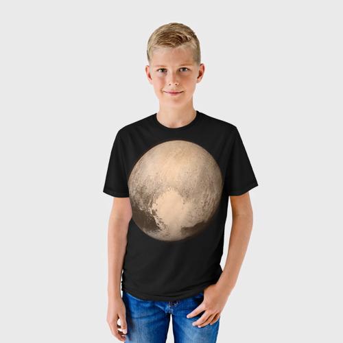 Детская футболка 3D Плутон