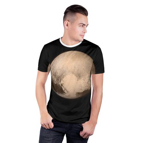 Мужская футболка 3D спортивная  Фото 03, Плутон