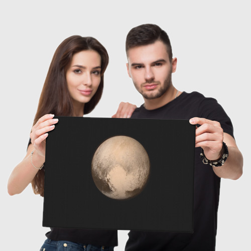 Холст прямоугольный Плутон Фото 01