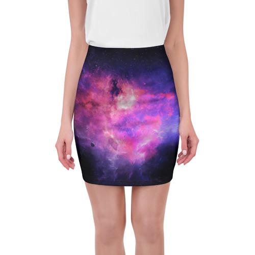 Мини-юбка 3D Космос от Всемайки