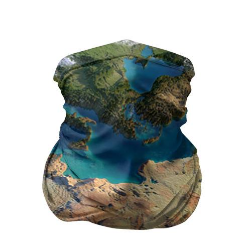 Бандана-труба 3D Земля