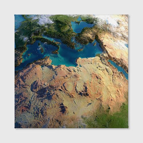 Холст квадратный Земля Фото 01