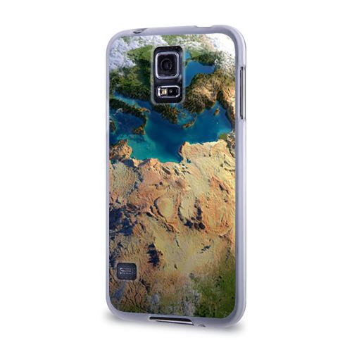 Чехол для Samsung Galaxy S5 силиконовый  Фото 03, Земля