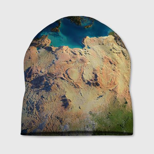 Шапка 3D Земля