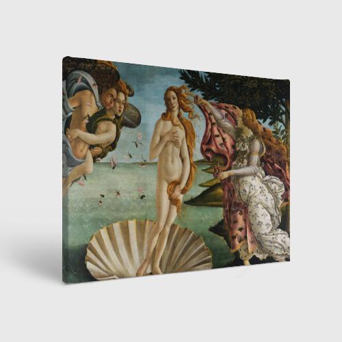 Холст прямоугольный Боттичелли - Рождение Венеры