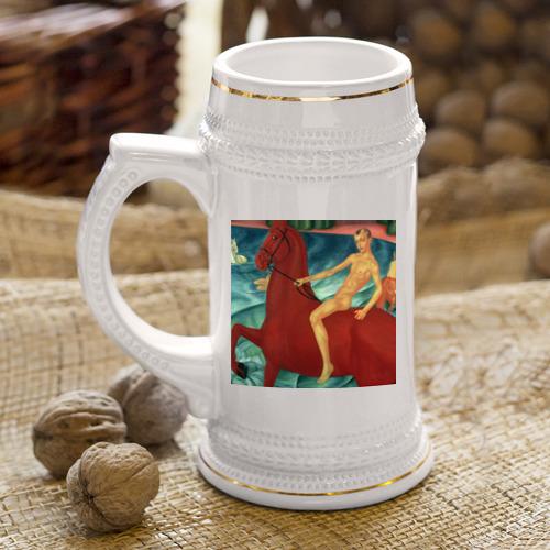 Кружка пивная  Фото 04, Купание красного коня