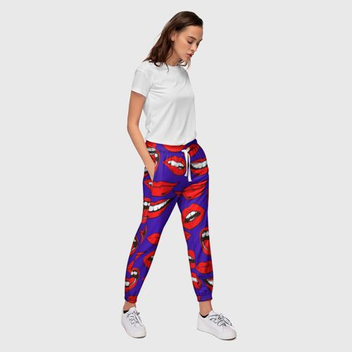 Женские брюки 3D  Фото 03, Губы
