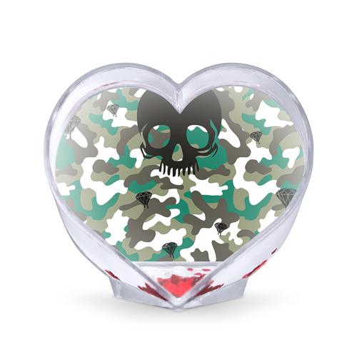 Сувенир Сердце Камуфляж от Всемайки