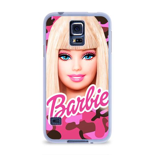 Чехол для Samsung Galaxy S5 силиконовый  Фото 01, Барби