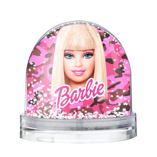 Водяной шар со снегом Барби