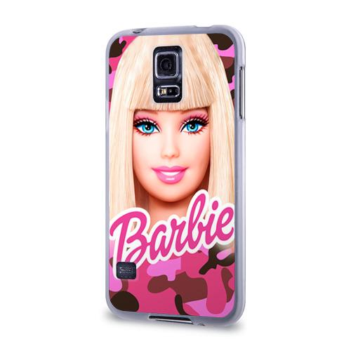 Чехол для Samsung Galaxy S5 силиконовый  Фото 03, Барби