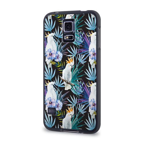 Чехол для Samsung Galaxy S5 силиконовый  Фото 03, Попугаи