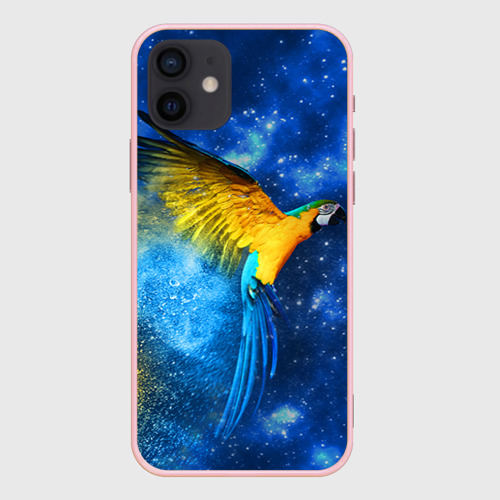 Чехол для iPhone 12 Pro Mini Попугаи Фото 01