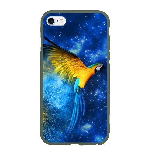 Чехол для iPhone 6/6S матовый Попугаи Фото 01