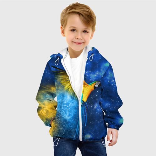 Детская куртка 3D  Фото 03, Попугаи