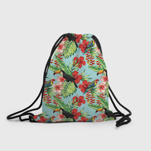 Рюкзак-мешок 3D Попугаи