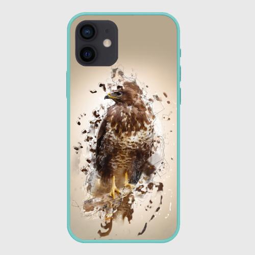 Чехол для iPhone 12 Pro Mini Птица Фото 01