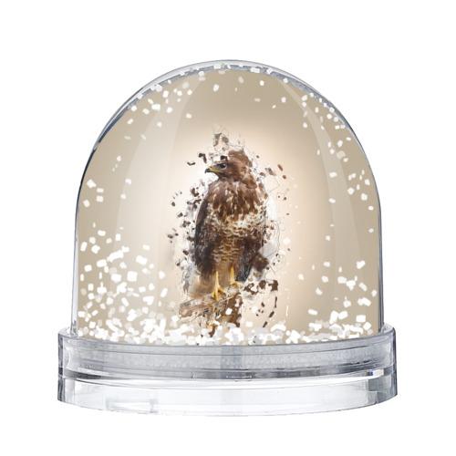 Водяной шар со снегом Птица