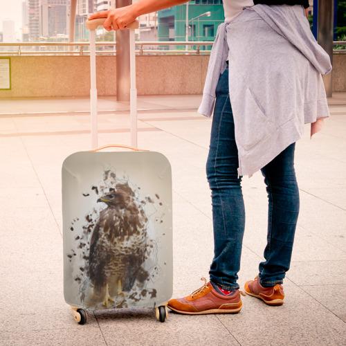 Чехол для чемодана 3D  Фото 04, Птица
