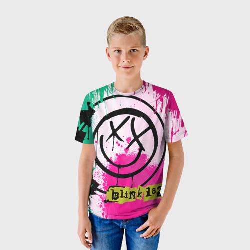 Детская футболка 3D blink 182
