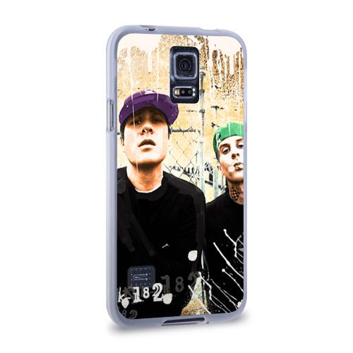 Чехол для Samsung Galaxy S5 силиконовый  Фото 02, blink 182